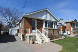 2-br bungalow in East York, main floor, utilities included