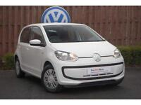 2014 Volkswagen UP 1.0 (60PS) Move 5-Dr Petrol white Manual