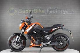 2016 66 KTM DUKE 125 125CC 0% DEPOSIT FINANCE AVAILABLE