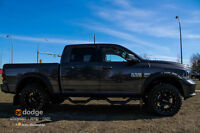 """2015 RAM 1500 SPORT C/C 8 SPEED 4"""" BDS LIFT .....YOU NEW WHIP !!"""