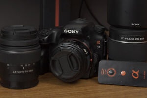 Sony A57 Complete Kit + Accessories