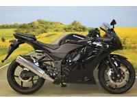 Kawasaki Ninja 250 R 2009 *OXFORD HEATED GRIPS, WAVY DISCS, MIRROR EXTENDERS*