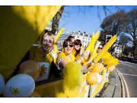Cheer Volunteers for Marie Curie - Brighton Marathon, 15 April, 2018