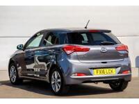 2016 Hyundai i20 1.2 Premium (84 PS) Petrol grey Manual
