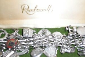 STERLING SILVER BRACELETS AND CHARMS