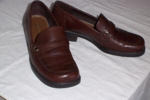 NATURALIZER Brown leather shoes- 7 1/2