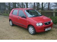 £30 Road Tax Suzuki Alto 1.1 GL done 65019 Miles with SERVICE HISTORY and MOT