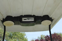 Golf Cart Radio Console, Carbon Fibre
