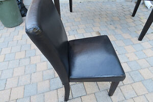 Faux leather dining chair Peterborough Peterborough Area image 3