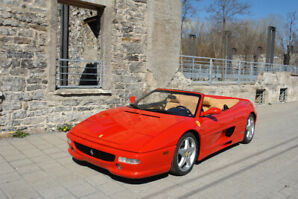 Ferrari 355 Spider - with Removable hard top - only 23600 miles!