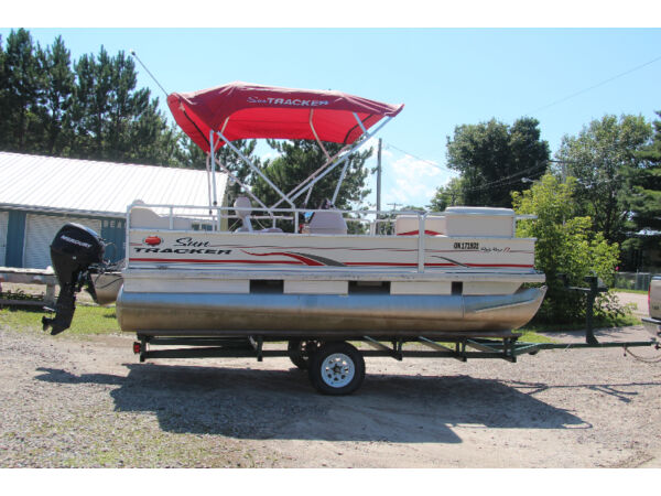 Used 2007 Sun Tracker sun tracker party barge 17