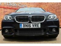 2016 16 BMW 5 SERIES 2.0 520D M SPORT 4D 188 BHP DIESEL