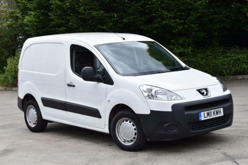 1.6 HDI S L1 850 5D 90 BHP SWB LOW ROOF DIESEL MANUAL VAN 2011