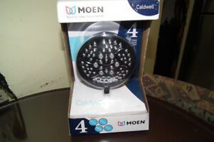 Moen Caldwell Multi-Function Shower Head, 2 gpm, Chrome(NEW)