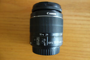 Objectif Canon 18-55 mm IS