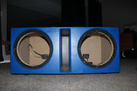 "Alpine Double Walled 2x12"" Subwoofer Box"