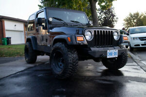 2005 Jeep Wrangler (TJ) 4x4 Sport w/ 2 sets of tires/rims +