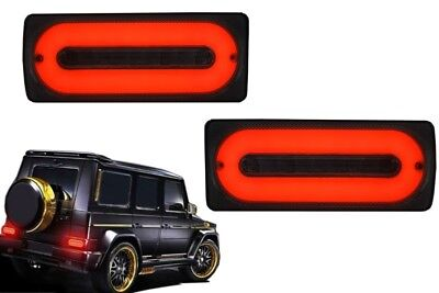 Voll LED Rückleuchten Lichtleiste Für  Mercedes W463 89-15 G-Klasse Taillights