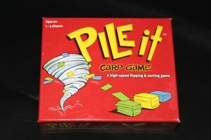 """Pile It"" game for age 6+ complete   Learning game"