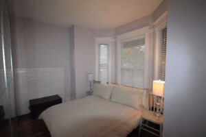 GORGEOUS 2 bed, 1 bath right on SUBWAY LINE w/ 9 FOOT CEILINGS