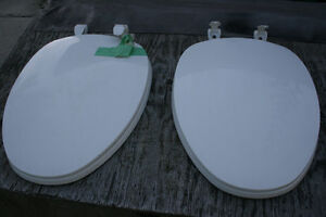 Two New Elongated Bowl Toilet Seats