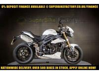2011 11 TRIUMPH SPEED TRIPLE 1050 0% DEPOSIT FINANCE AVAILABLE