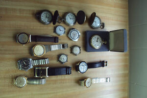 WATCHES & CLOCKS