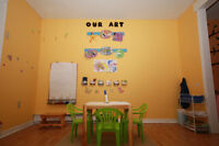 September space in Middle Sackville preschool