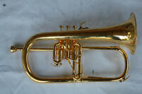 """FLUGEL HORN Bb 1978 Couesnon Professional """"GOLD PLATED"""""""