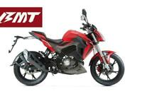 Keeway RKF 125cc Super Sport Naked Motorcycle Stylish Commuter Street Fighter