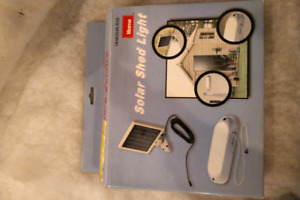 Bnib -- solar light for the shed