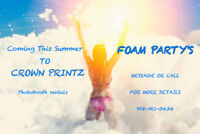 Photo Booth rentals & Foam Parties
