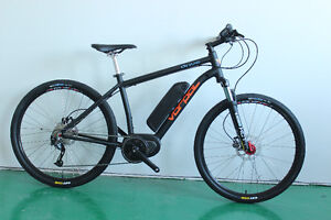 VORPAL - DRIVE 27.5 Mid Drive City Commuter Electric Bicycle
