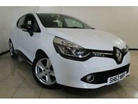 2013 63 RENAULT CLIO 0.9 DYNAMIQUE MEDIANAV ENERGY TCE S/S 5DR 90 BHP