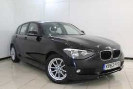 2013 63 BMW 1 SERIES 1.6 116D EFFICIENTDYNAMICS 5DR 114 BHP DIESEL