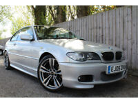 2005 05 BMW 330CD SPORT COUPE 3.0T/D AUTOMATIC GOOD EXAMPLE 46.3 MPG P/X