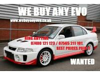 Mitsubishi Lancer Evolution 4 5 6 7 8 9 WE BUY ALL EVOS IMMEDIATE SAMEDAY SALE