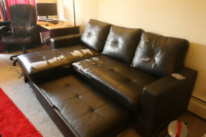 Sectional with Storage ..free....