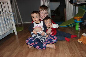 Mom and 3 sons looking for a new home. Starting over.