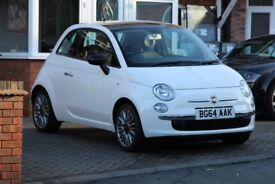 Fiat 500 1.2 Cult White 22897 Miles Clean Leather