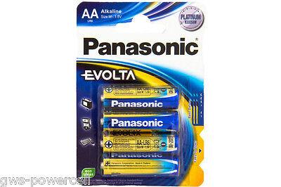 8 x Panasonic Platinium Award Evolta Alkaline Batterien 1,5V AA Mignon LR6