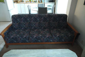 Scandinavian Style Couch and Chair - Great Condition!