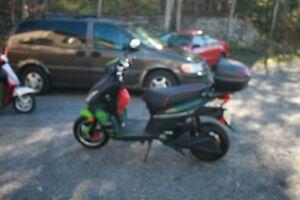 Motocyclette électrique