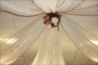 P2 Weddings ~ Custom Ceiling Decorations Set Up Included