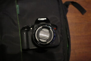 Cannon T4i Camera with Two Lenses + Extras