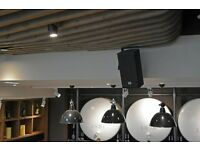 Audio design|sound systems installations for restaurants, concert halls and for other public places.