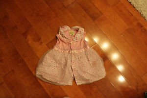 a cute summer dress for 3m to 6 m girl