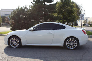 2008 Infiniti G37 Sport Coupe (2 door) Pearl White