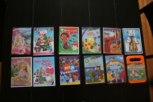 Collection of Children's DVD's