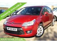 CITROEN C4 1.6 VTR PLUS HDI EGS 5D AUTOMATIC 110 BHP FULL DEALER HISTORY